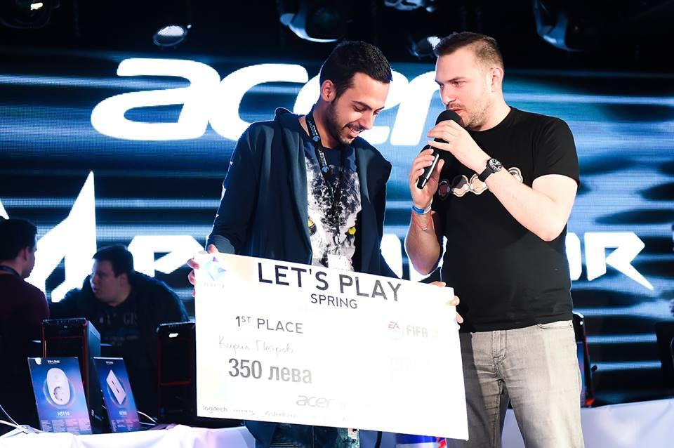 Шампион на Let's Play Spring 2016