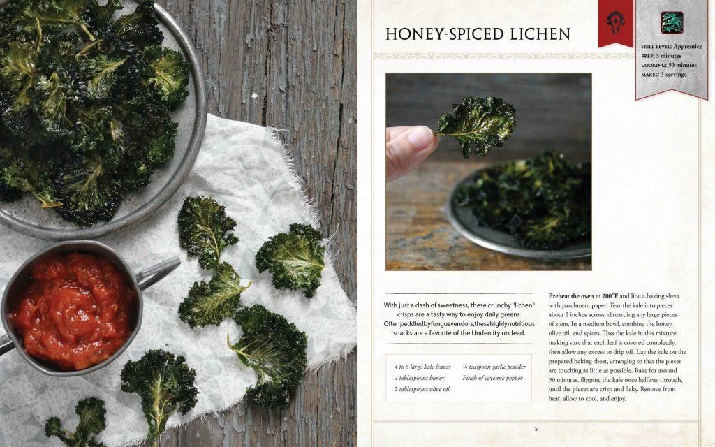 Honey Spiced Lichen