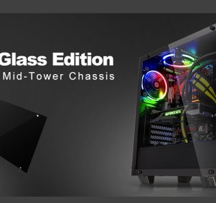 Thermaltake Unveils the New View 21 Tempered Glass Edition Mid-Tower Chassis