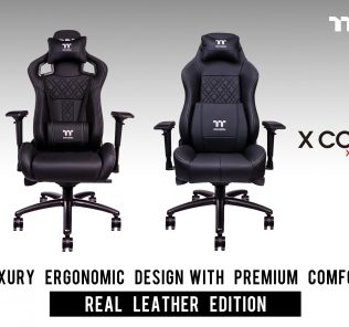 Tt eSPORTS Announces X FIT X COMFORT Real Leather Edition Professional Gaming Chair