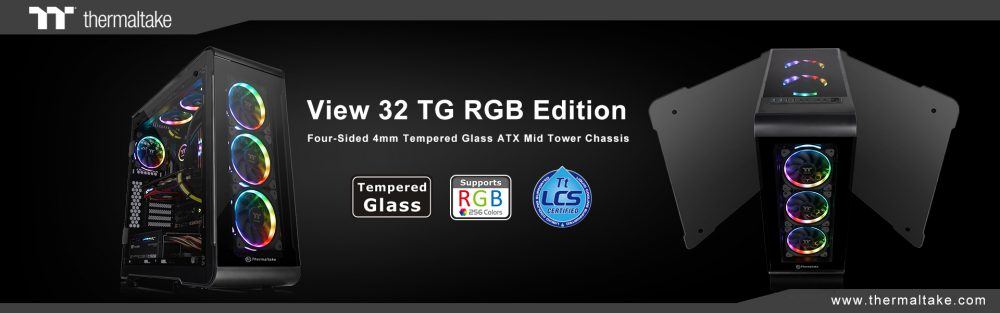 Thermaltake New View 32 TG RGB Edition Mid-Tower Chassis