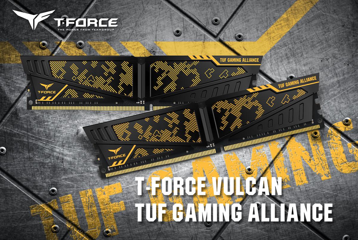 vulcan tuf gaming alliance ddr4