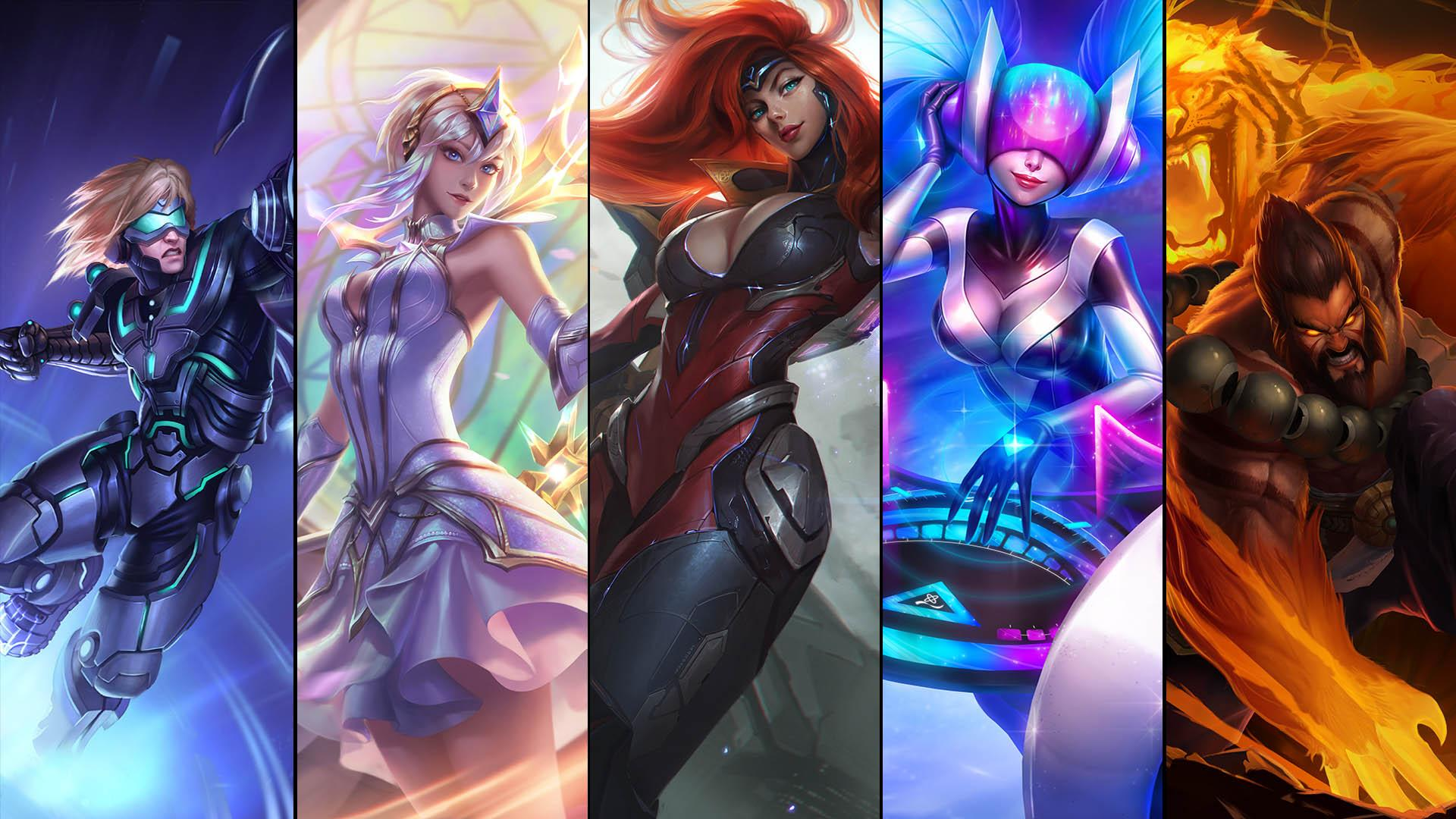 League of Legends ultimate skins